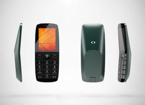 Huawei Folded Leaf Phone, Concept Design