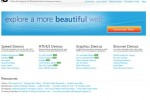 Microsoft Internet Explorer 10 First Preview