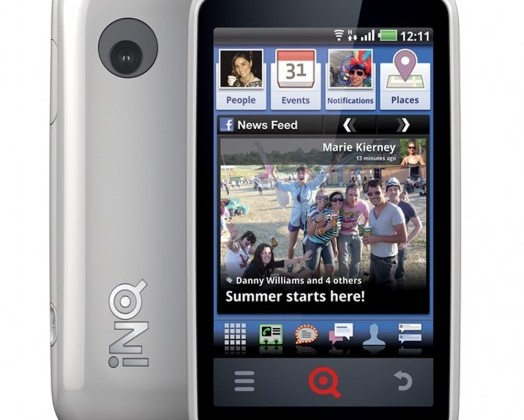 INQ's Facebook phone, the Cloud Touch, hits shelves with