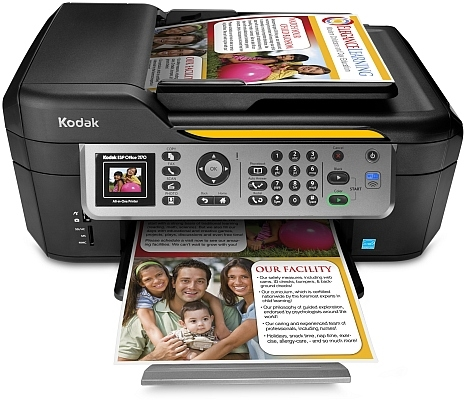 Kodak Announces ESP Office 2170 All-in-One Inkjet With Mobile And 3D Photo Printing