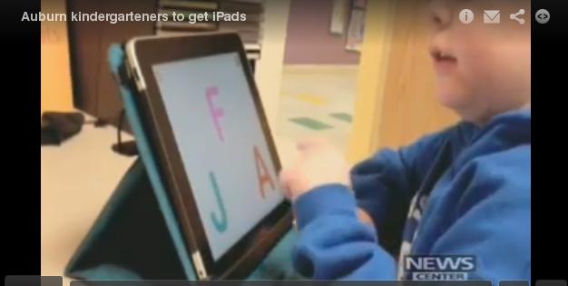 iPad 2s to Mainers in Kindergarten, Free
