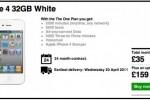 Three backtracks on white iPhone 4 listing