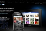 BlackBerry Bold Touch Makes Brief Appearance On RIM's Front Page