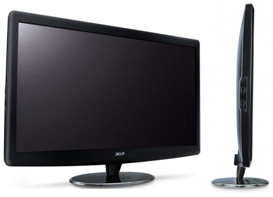 Acer unveils new 3D computer monitors