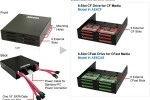 Addonics outs CF Drive with six CF card slots