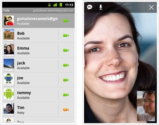 Android 2.3.4 hitting Nexus S OTA with Gtalk video calls [Video]