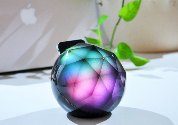 Black Diamond Interactive Ambience iPhone Dock Brings Magical Party Time