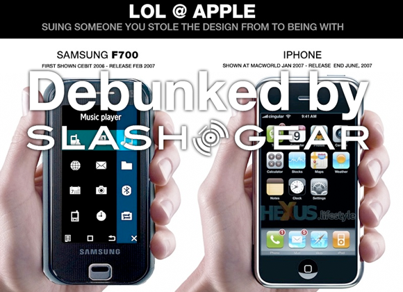 iPhone / Samsung F700 / Prada Phone Rumors Debunked