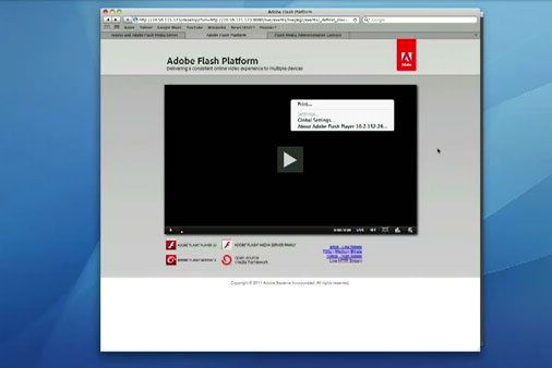 Adobe shows off HLS streaming video on iPad, we still want native Flash