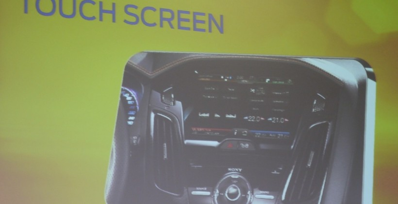 Ford SYNC hits Europe in 2012 Focus