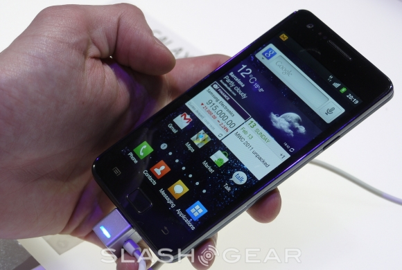 Samsung Galaxy S II hits UK May 1