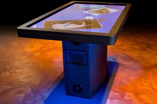 Ideum Unveils New MT55 HD Multitouch Table [Video]