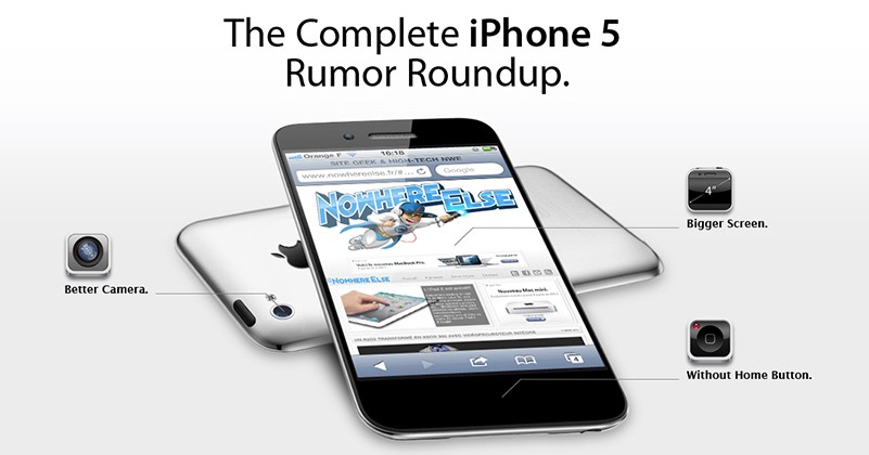 iPhone 5 Rumors, A Complete Roundup Infographic