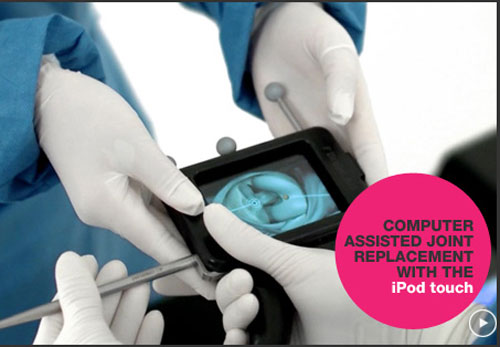 iPod Touch Used By Surgeons To Perform Knee Surgery