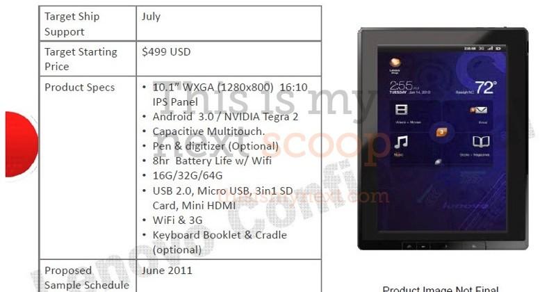 Lenovo ThinkPad Tablet breaks cover: Honeycomb slate with Keyboard Dock