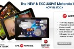 Motorola's XOOM 3G arrives in UK from £130