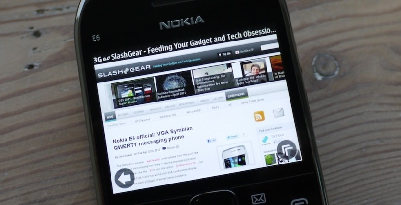 Nokia E6 hands-on [Video]