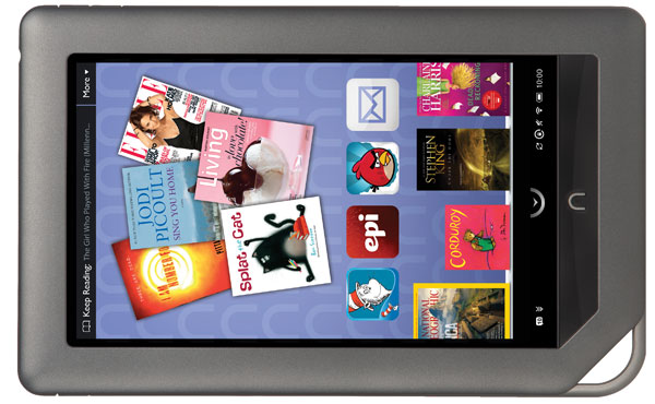 Nook Color gets email, apps and more with new update