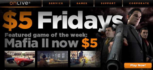 OnLive Lets You Share Games Instantly Via Links, Now Featuring Mafia II For $5