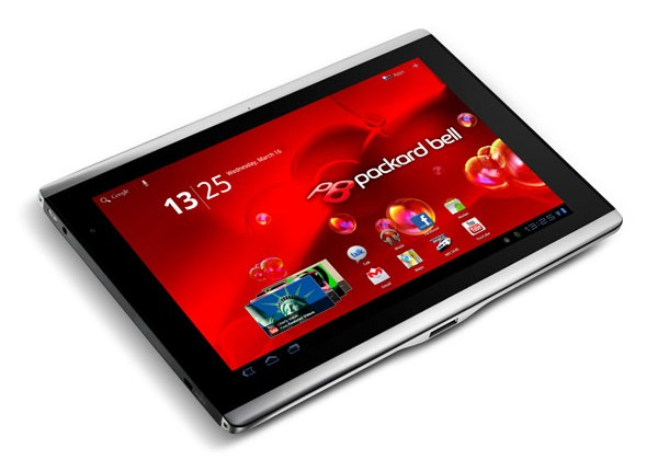 Packard Bell Liberty Tab borrows Acer A500 for European Honeycomb