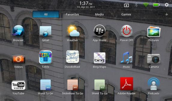 BlackBerry PlayBook Firmware May Be Lacking, But Getting Updates Fast