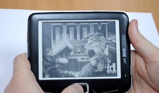 Pocketbook 360 Plus ereader plays Doom 2 (who needs ebooks?) [Video]