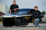 Purdue Solar Racing team's entry gets 2,200mpg