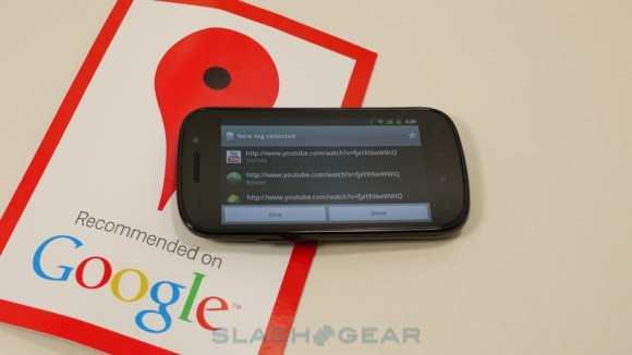 Google Places Rolling out NFC Stickers in [at least] Five US Cities