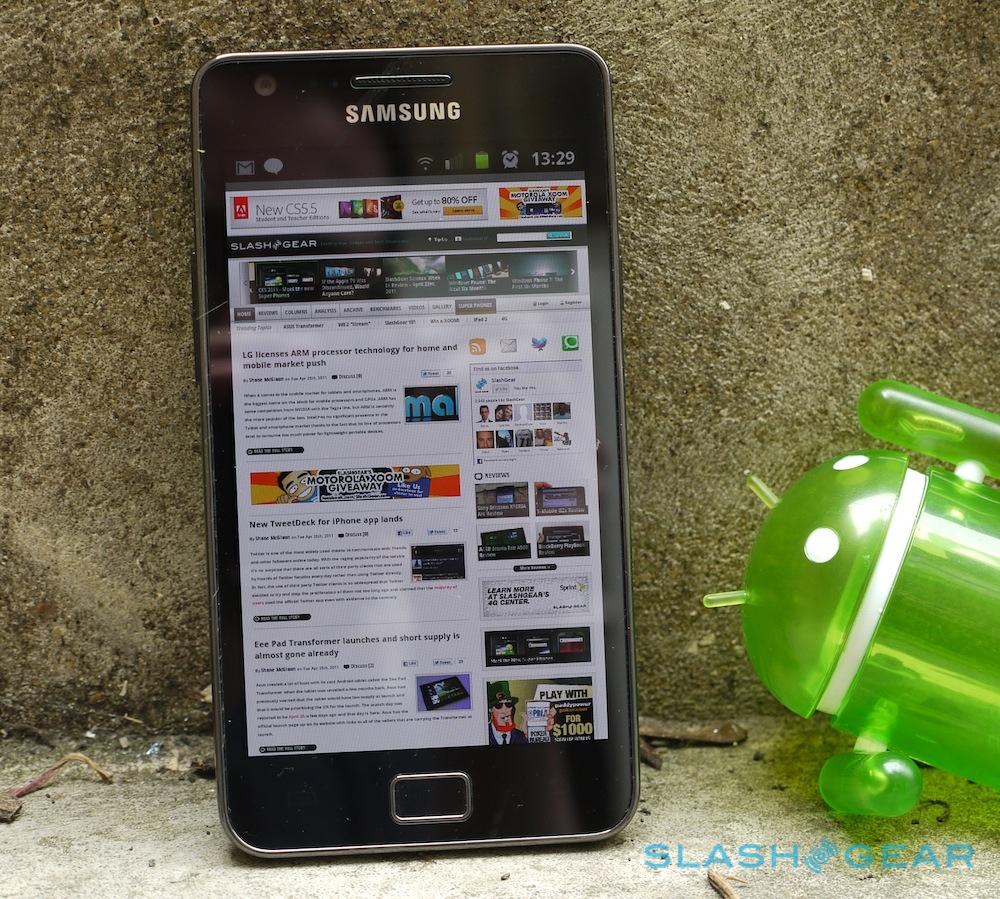 Samsung Galaxy S II Review - SlashGear