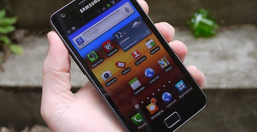 Samsung gets Galaxy S II party started (with bonus thumb research)