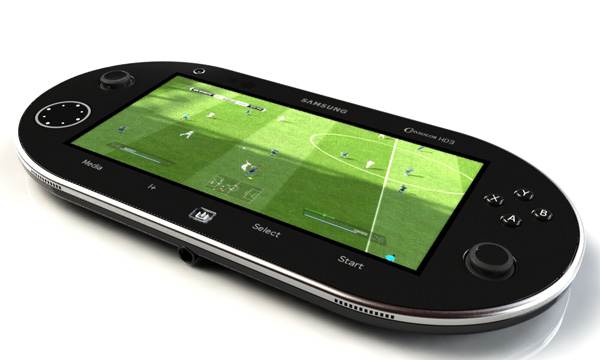 Samsung Portable Gaming Concept, Powered by Android
