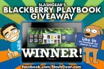 SlashGear BlackBerry PlayBook Giveaway: We have a Winner!