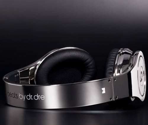 Colorware Chrome Custom Studio Dr. Dre Beats Headphones