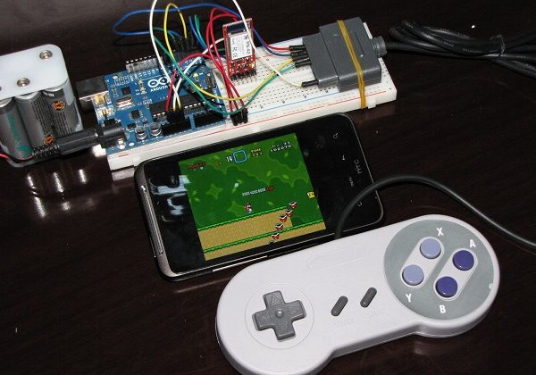 DIY Android SNES gamepad ideal for retro ROMs [Video] - SlashGear
