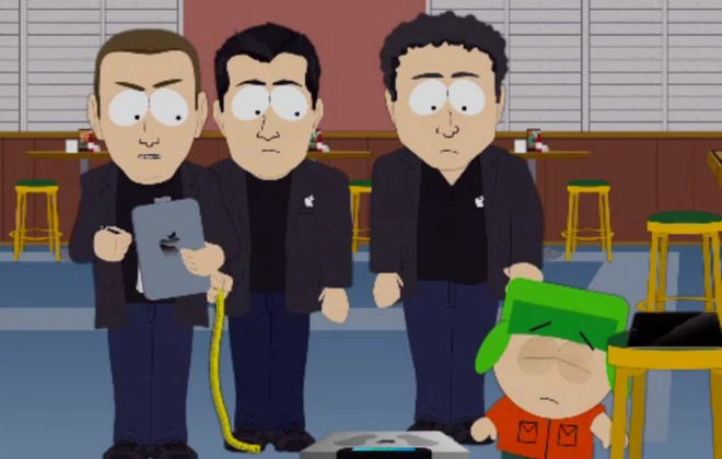 South Park Spoofs Apple Location Tracking Controversy