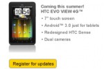 HTC EVO View 4G to hit Sprint with Honeycomb pre-loaded