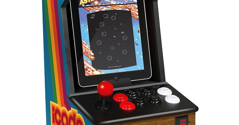 ThinkGeek iCADE iPad arcade cabinet finally gets shipping date