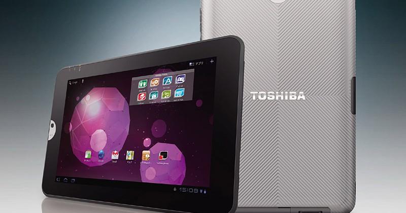 Toshiba's Regza Tablet AT300 finally breaks cover