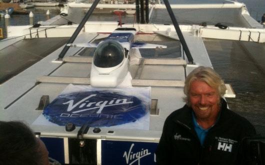 Virgin Oceanic pops Sir Richard Branson's ocean exploring cherry