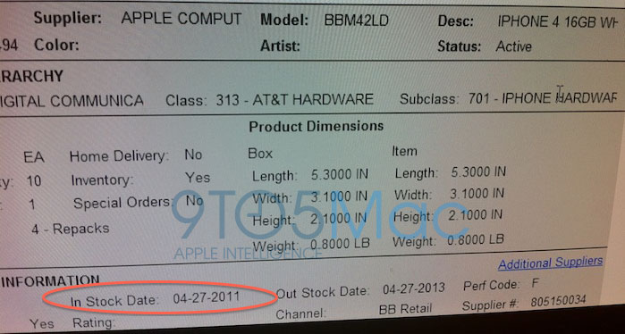 White iPhone 4 to hit Best Buy on April 27