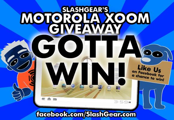 Motorola XOOM Contest via SlashGear!