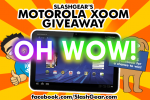 Reminder: We Have an XOOM Contest Going On, Winner at 5pm PST