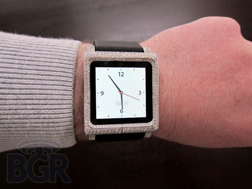 ZShock Lunatik iPod nano watchband is for the rich geek