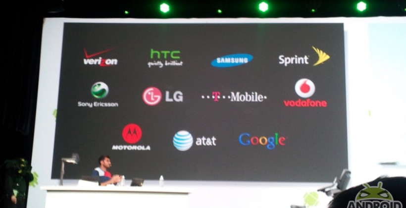 Android Update Alliance Announced at Google I/O