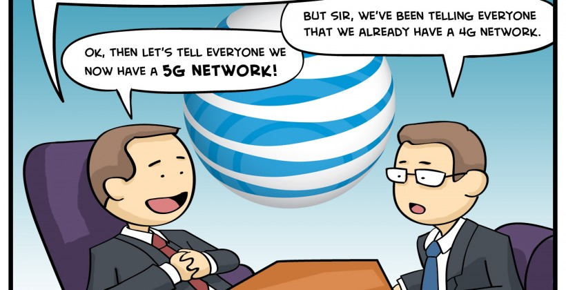 SG Comics Presents: AT&T's 4G Marketing