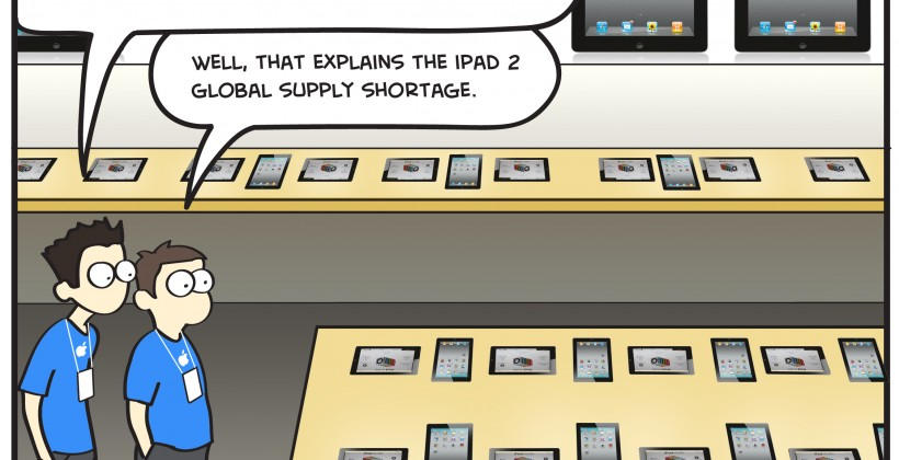 SG Comics Presents: Apple Store 2.0