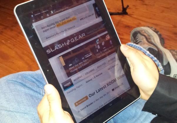 Samsung Galaxy Tab 10.1 Hands-On at Google I/O 2011