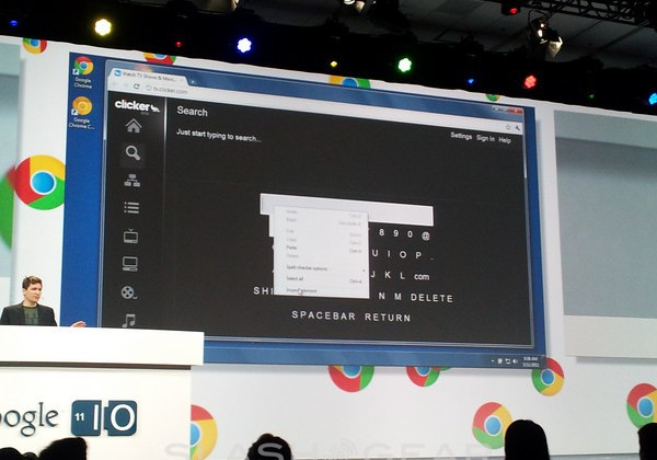 Google Demos Chrome Speech Input, Graphics Acceleration, And 3D