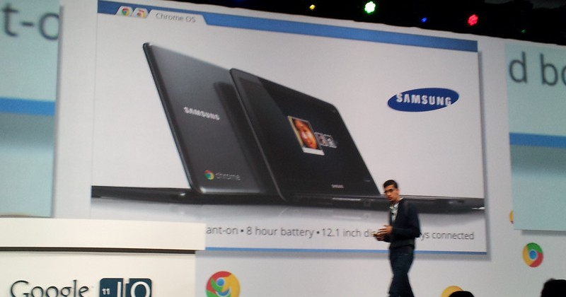 Samsung Chromebook Announced