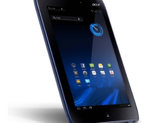 Acer Iconia Tab A100 postponed until 2H 2011